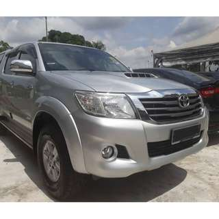 NEAR 15 Toyota HILUX 2.5 G VNT (A) 1 OWNER ONLY