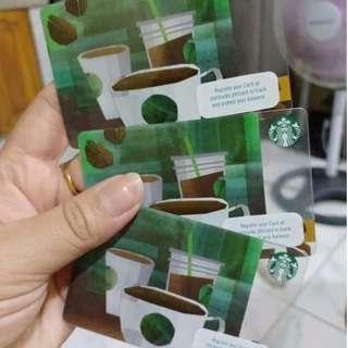 STARBUCKS card w/ Load Worth 10,000 ❣😁📌😍