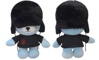 BigBang G-Dragon Krunk Bear Plush Stuff Toy
