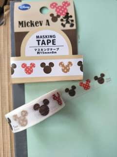 🚚 Disney Mickey Washi Tape