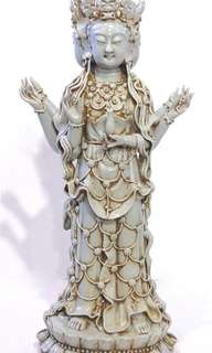 Astonishing Guanyin Antique Figurine!
