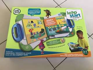 Leapfrog Leapstart Interactive Learning System, Green