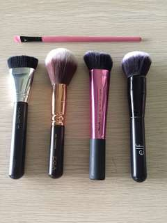 Authentic Makeup Brushes