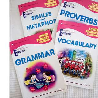 English for Pri 1 to Pri 3