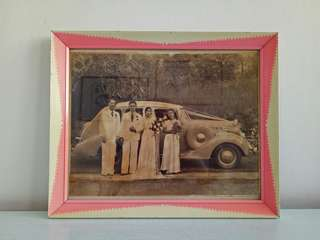 Olden frame With Old Photo Frame Size 27x23cm Perfect