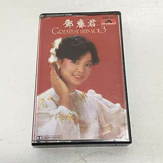 Teresa Teng Deng Lijun 鄧麗君 邓丽君 1982 Greatest Hits Vol 3 Polydor Music Cassette