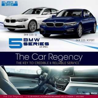 BMW 5 SERIES 530i 2.0 TURBO  ( NEW )( SEDAN )  ×TAG 520I 528I 530I 535I 320I 318I 325I 328I 330I 335I