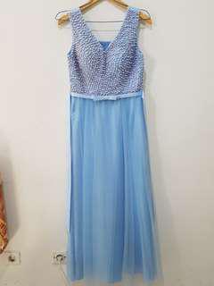 Dress blue frozen