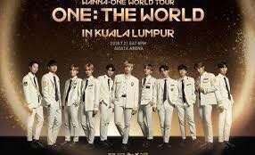 Wanna One KL COncert Ticket