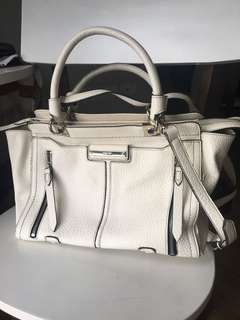 Authentic old Nine west bag Nola Satchel Petal dirty white