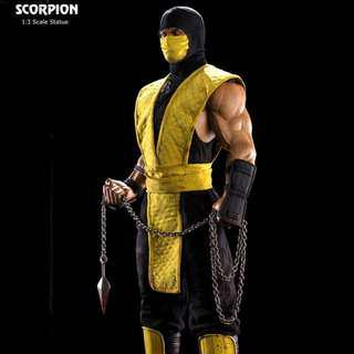 Pop culture shock 1/3 scorpion PCS statue not sideshow