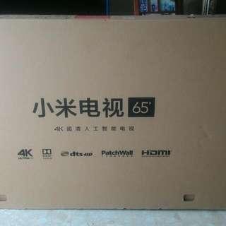 Xiao Mi 65 inch tv carton box