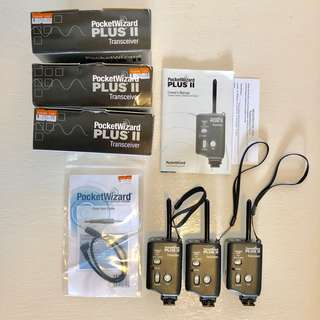 Pocket Wizard, Plus II Transceiver (3 units)