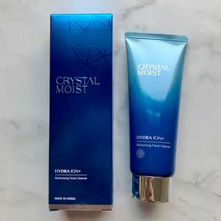 [Crystal Moist] Hydra Ion+ Moisturizing Facial Cleanser