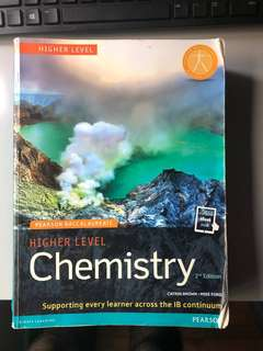IB CHEMISTRY HL PEARSON BACCALAUREATE 2nd Edition