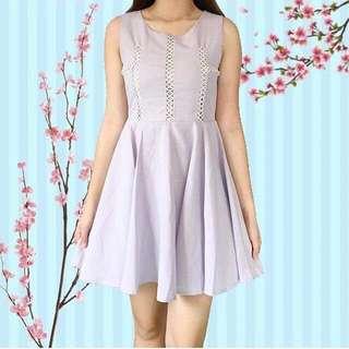 Pastel Violet Dress