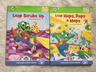 LeapFrog Phonics Books for Early Readers (2 for P60)