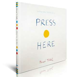 Press Here - Herve Tullet
