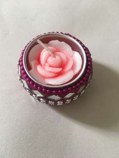 FP! Clearance sales! BNIB rose candle n holder
