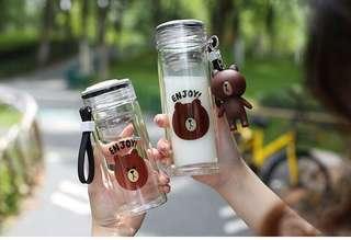 可愛玻璃水樽/cute bottle
