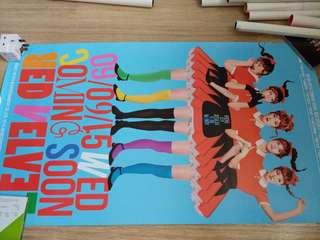 Red Velvet The Red 官方團體海報 poster dumb dumb