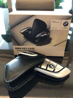 Bmw key fob pouch leather