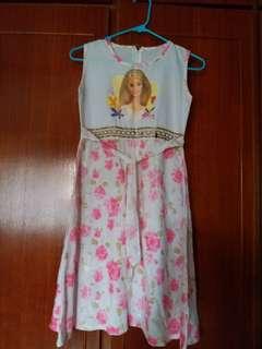 Barbie Floral Dress Age 8-12