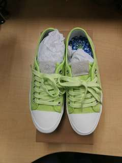 Lime Green Canvass Sneakers