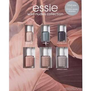[美國購入]Essie wild nudes collection nail polish gift set 甲油 禮盒 套裝