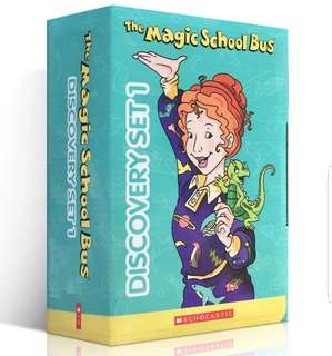 The Magic school bus discovery set 1