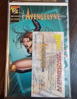 Avengelyn 1/2 With Certificate COA Comic