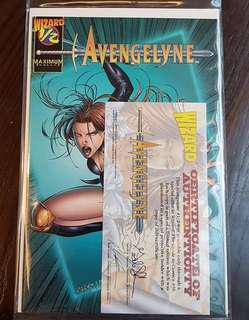 Avengelyn 1/2 With Certificate COA Comic #UNDER90