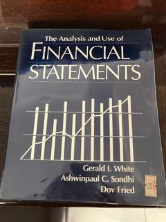 The Analysis & Use or Financial Statements