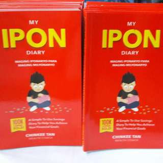 MY IPON DIARY by: Chinkee Tan, Tayo Na Mag IPON😊😊