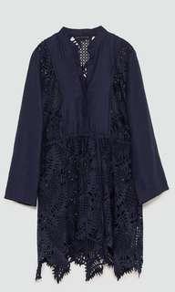 Bnwt Zara linen lace