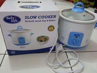 Slowcooker babysafe
