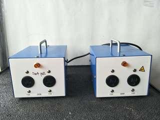 GS Transformer (2 pcs) @$50 Each  @B5/3