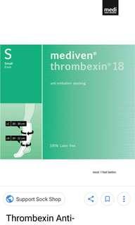 Mediven thrombexin18 compression socks