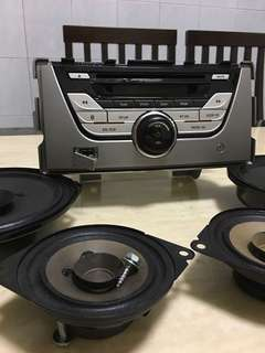 Myvi 1.3 premium original speaker full set