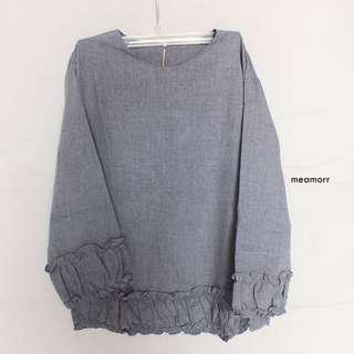 Mezati Tops - Dark Grey
