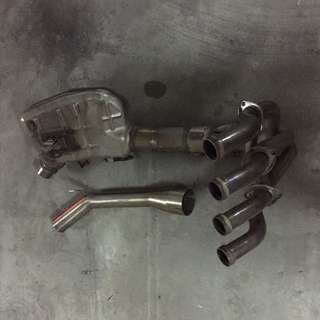 kawasaki z900 exhaust headers piping