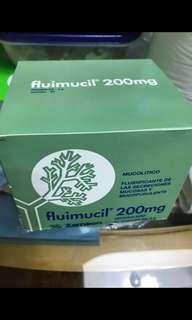 全新,Fluimucil橙樹化痰素