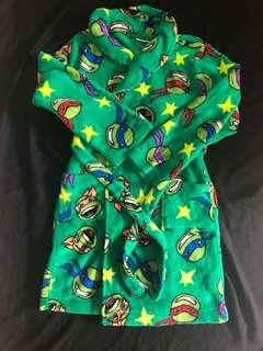 Teenage mutant ninja turtles Nickelodeon swim bath robe