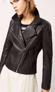 Real Leather Jacket by Massimo Dutti - RRP $460. Too small