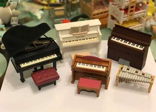 森林家族 音樂樂器系列 鋼琴 Sylvanian Families Musical instruments PIANO