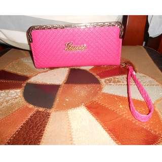 Pink wallet $5