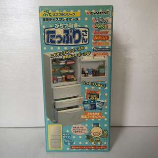 Re-ment Refridgerator ideal for Barbie Blythe Momoko doll diorama 1:6 scale