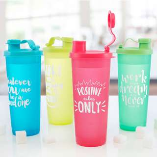 Neon Fliptop Tumbler Set (Set of 4)