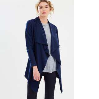 SABA Karlie Knit Cardigan merino wool pine colour XS RRP $229