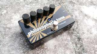 Pigtronix Philosopher's Tone Compressor Pedal for guitar
